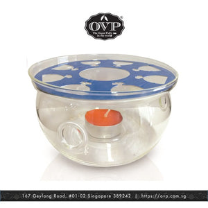 Old Village PuEr Tea Borosilicate Glass Warmer - OVP Tea
