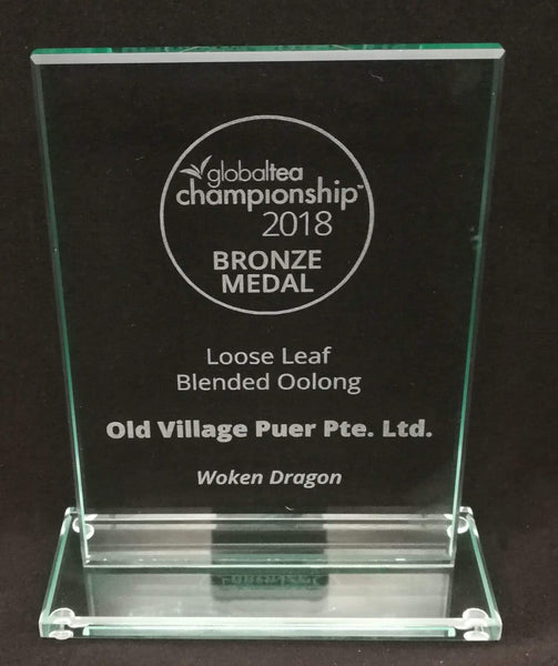 WOKEN DRAGON®, Award-Winning Old Village Jasmine Oolong Loose Tea - OVP Tea
