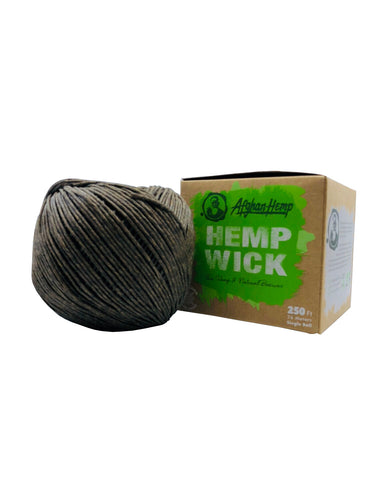 Afghan Hemp Hemp Wick 250 ft