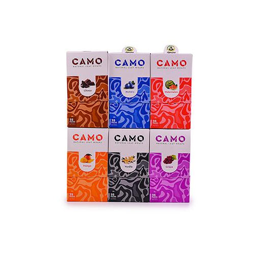 CAMO self-rolling wraps (6 Flavors)