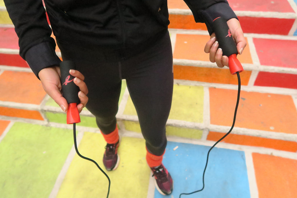 Finding the right length for your jump rope is key