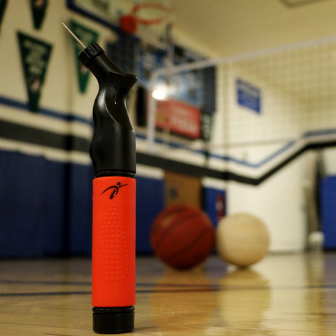 A dual action ball pump