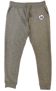 24 HOCKEY JOGGERS - CARBON GREY