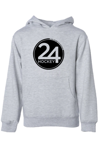 Hockey Apparel - 24 Hockey Youth Hoodie 24/7 Hockey
