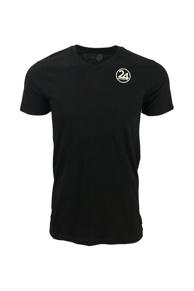 Men's 24 hockey black hockey apparel t-shirt