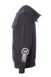 Hockey Apparel - 24 Hockey Hoodie Back Check
