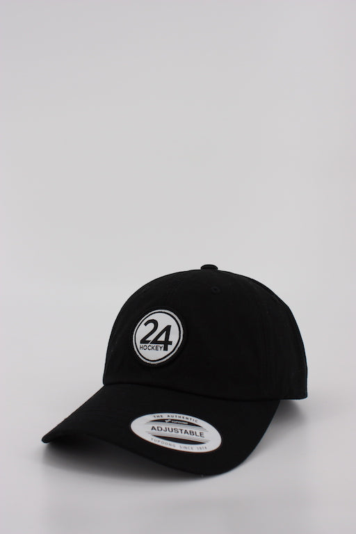 24 Hockey Curved Dad Hat