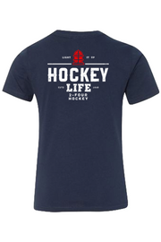 Hockey Apparel - 24 Hockey Youth Tee Light It Up