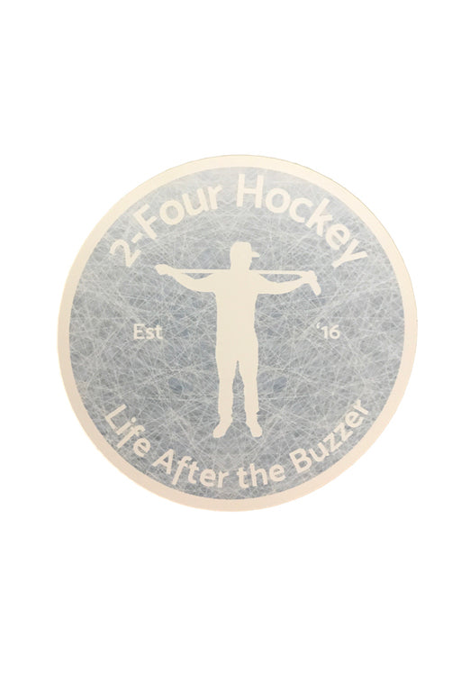 24 Hockey Sticker