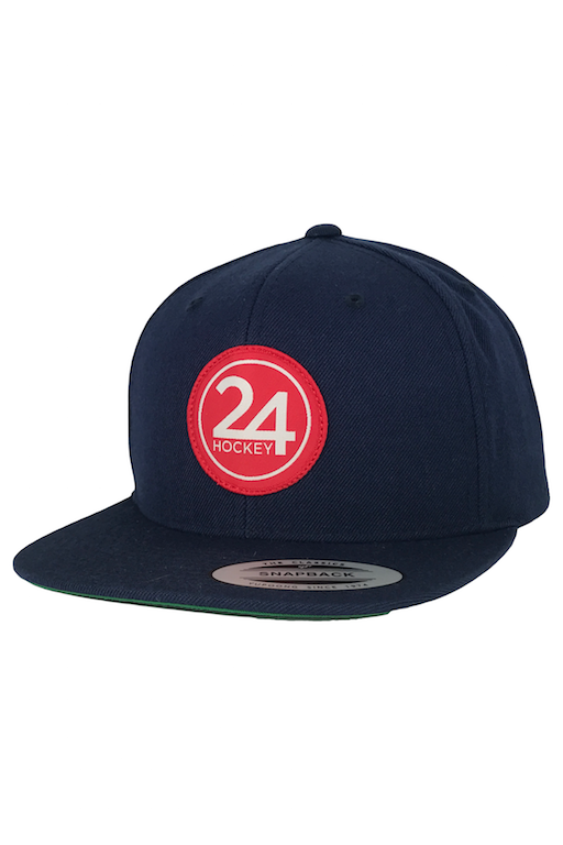 24 Hockey Apparel Baseball Hat Navy
