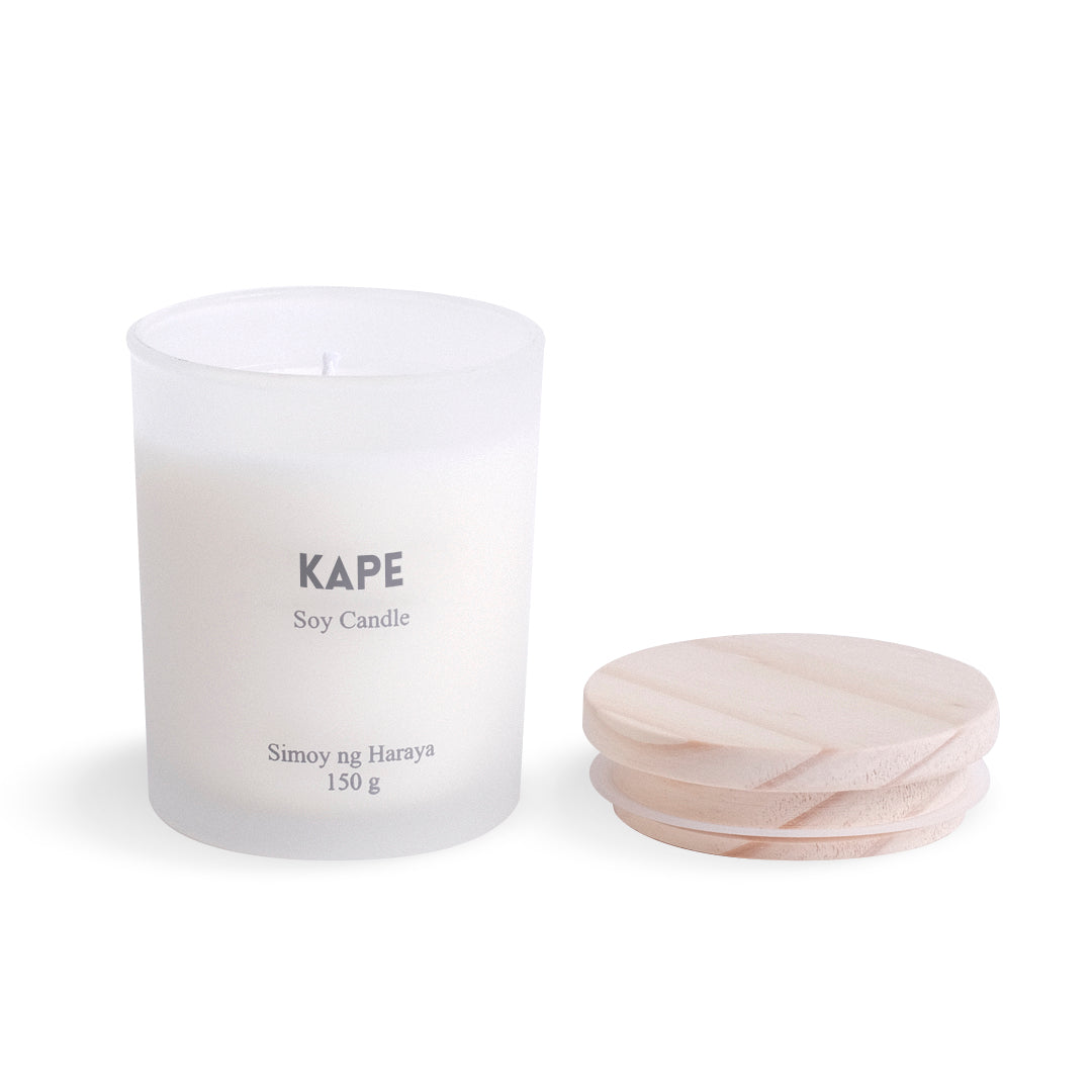Kape Soy Candle - accepting preorders, shipping on april 16:)