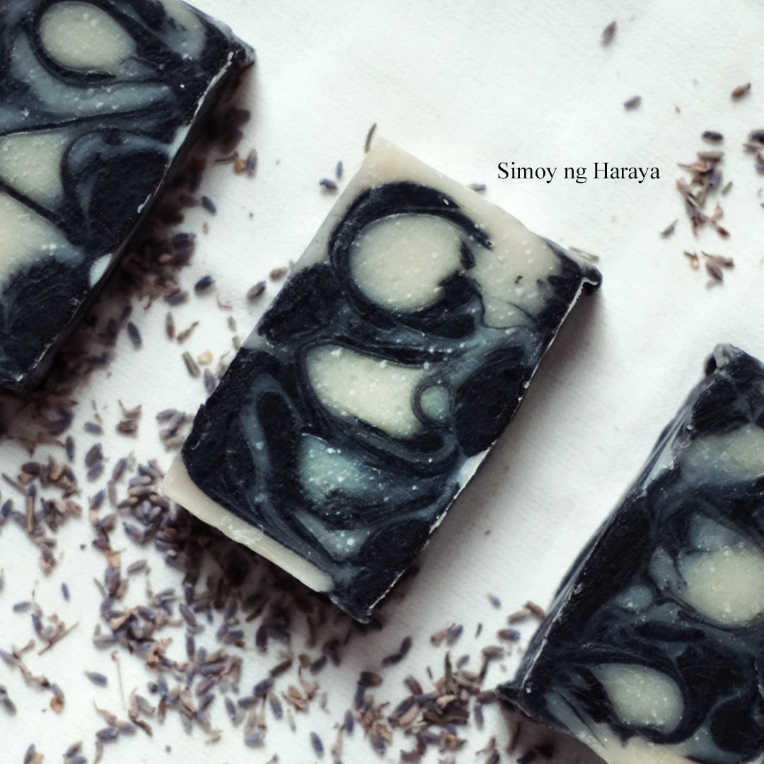 Charcoal Lavender Bar Soap