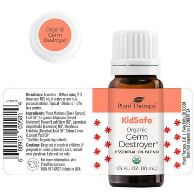 Organic Germ Destroyer KidSafe Essential Oil