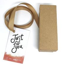 Gift Box, Ribbon, and tag for a 60ml room/linen spray