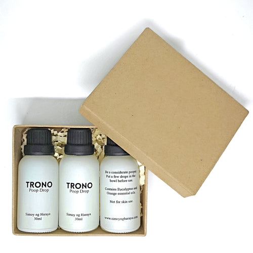 3 bottles of Trono Gift Package