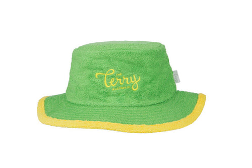 The Great Southern Narrow Brim Terry Towelling Bucket Hat