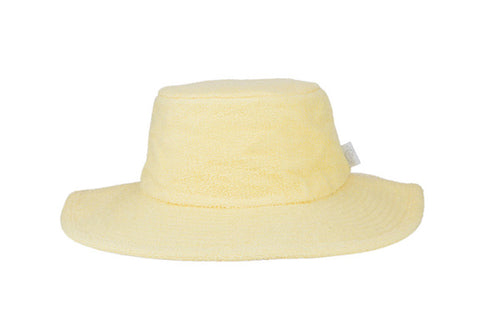 Kids Essential Plain Terry Hat - Butter