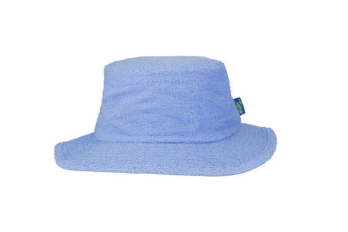 Terry Towelling Bucket Hat Narrow Brim- Sky Blue