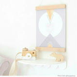 Interior Motives A4 Poster Hanger: Oak | Arlo Interiors