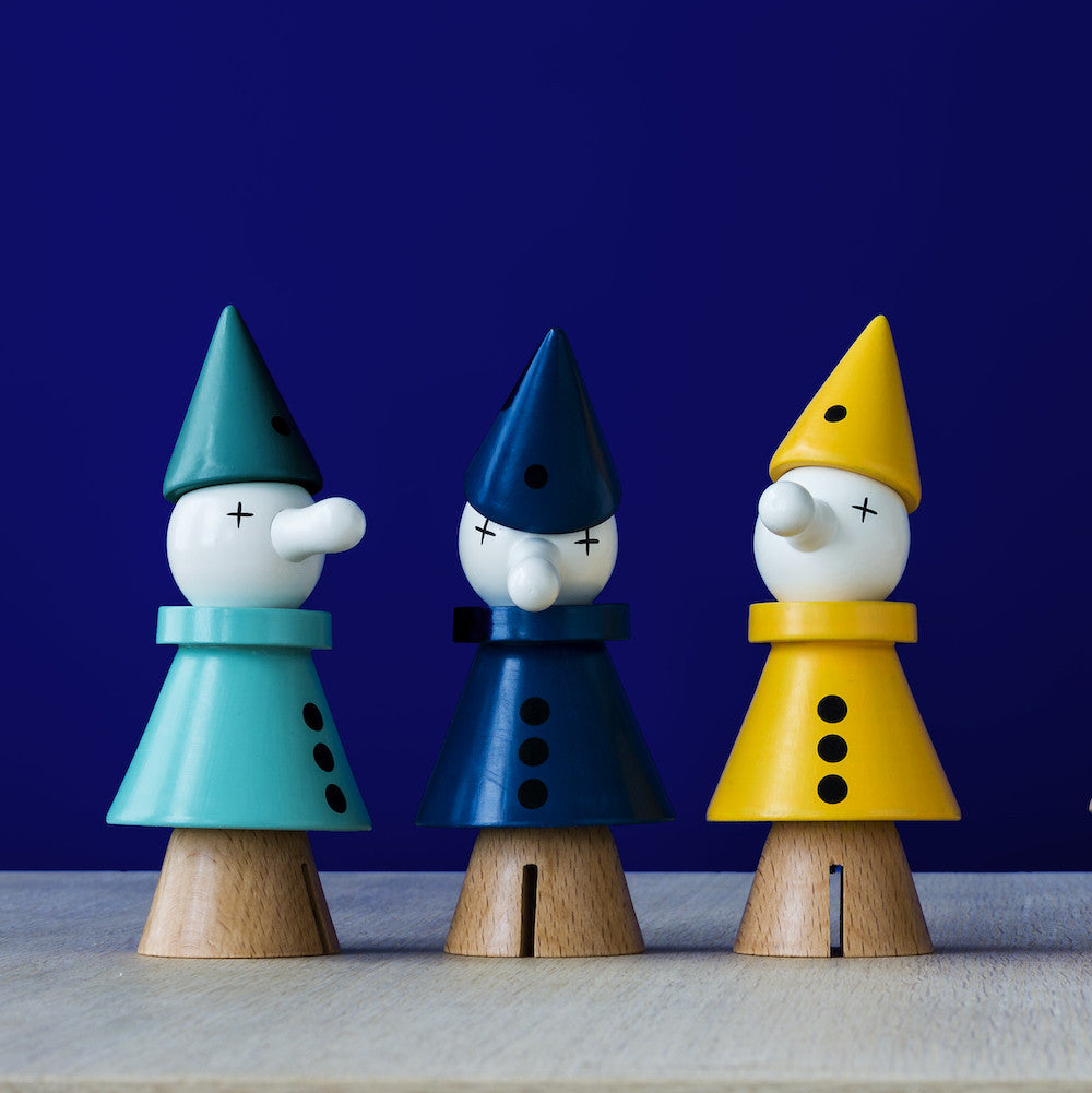Urbaani Clown Wooden Toy | Arlo Interiors