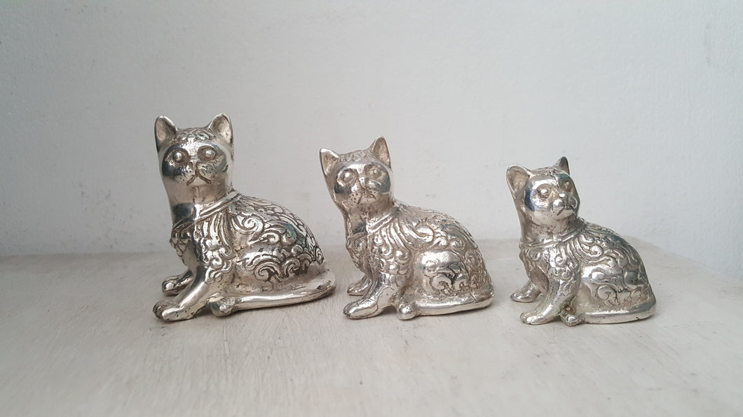 Brass Decor Cat