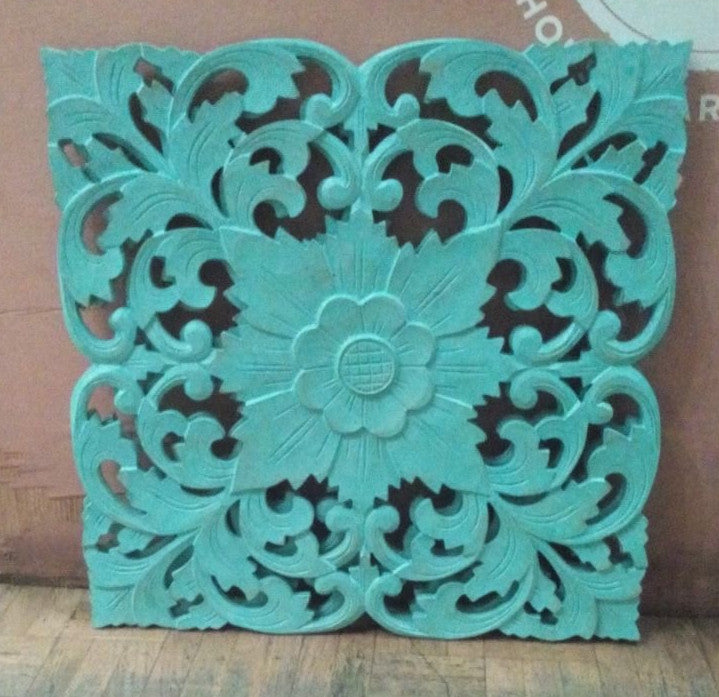 Traditional Balinese Carving Flower 40x40