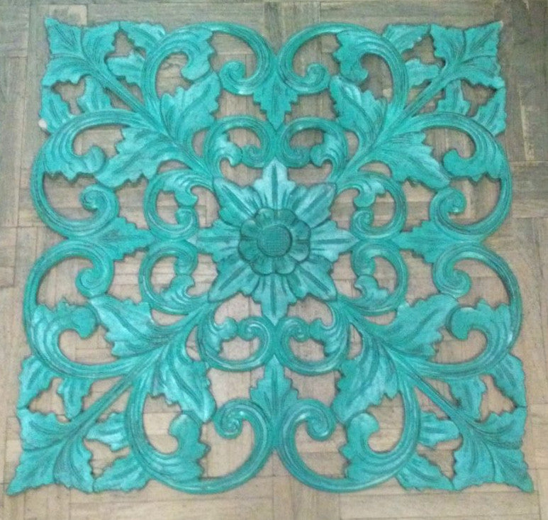 Traditional Balinese Carving  Single Flower Leaf