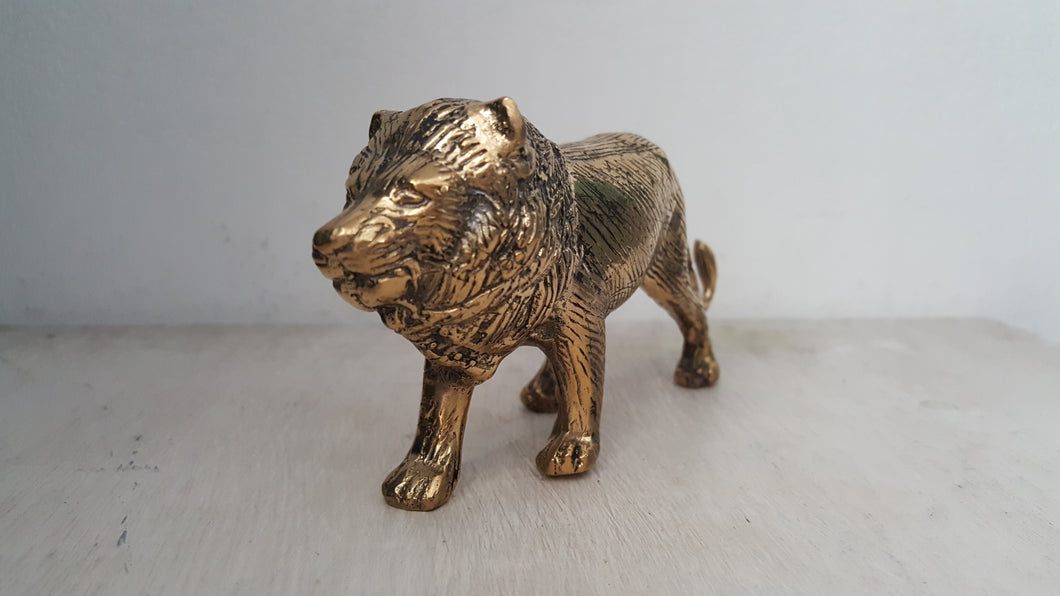 Brass Decor Lion