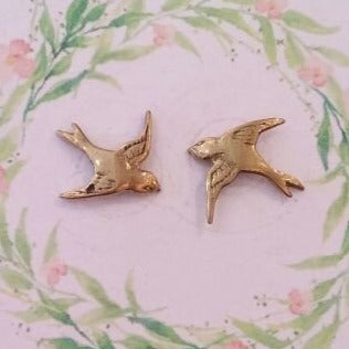 Earring Stud Forest