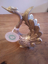 Brass Decor Swan Elegant