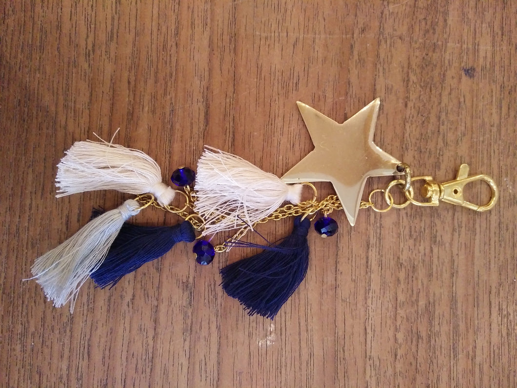 Keychain Tribal Star