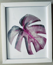 Tropical Print With Frame