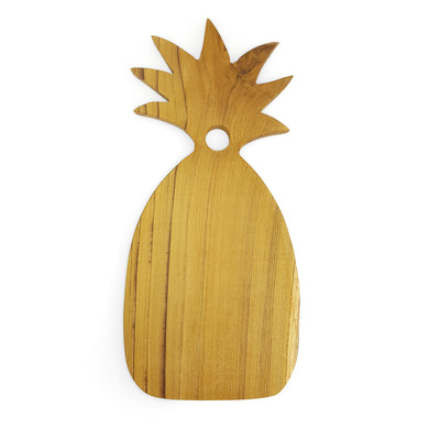 Cutting board and plate pineapple