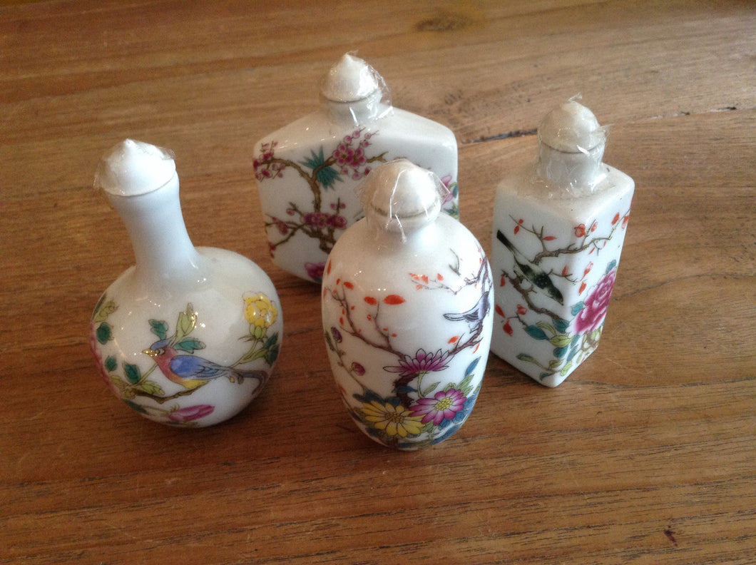 porcelain mini bottle parfume