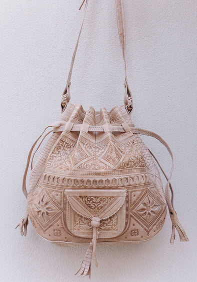 Casablanca Bucket Bag // Nude