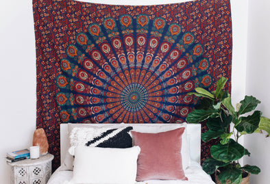 Mandala Tapestry // Earth