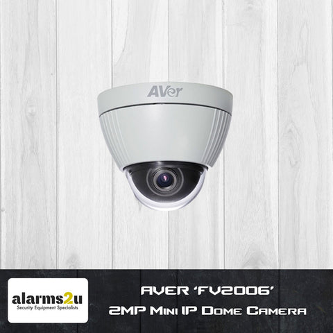 AVER 'FV2006' 2MP Mini IP Dome Camera