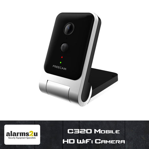 C320 HD 720p Mobile WiFi Camera