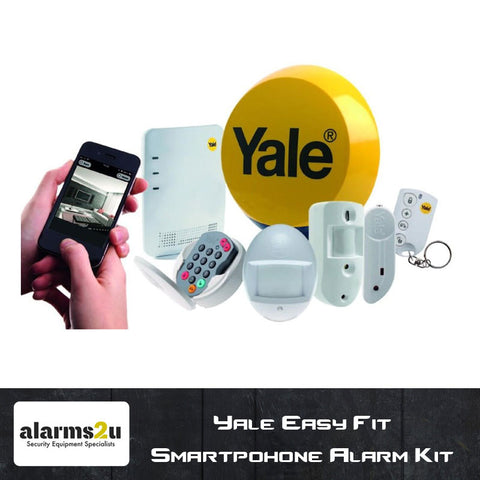 Yale Easy Fit Smartphone Wireless Alarm Kit