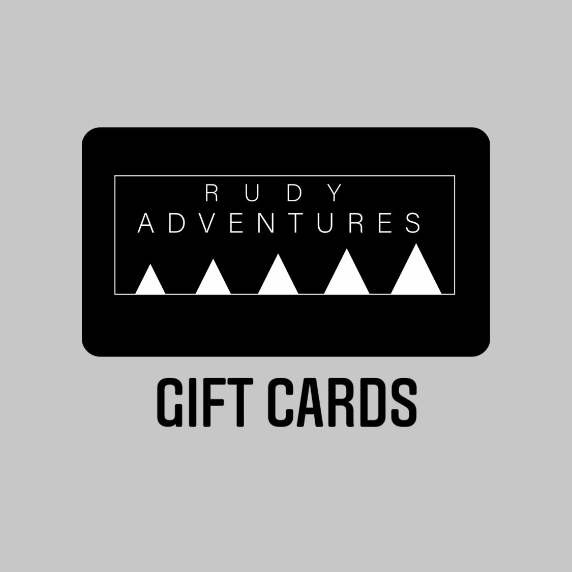 Rudy Adventures Gift Card