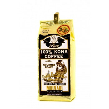 7oz 100% Kona Coffee Whole Bean