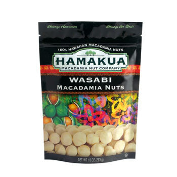 10oz Hamakua Mac Nuts Wasabi