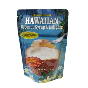 8oz Hawaii's Best Coconut Syrup