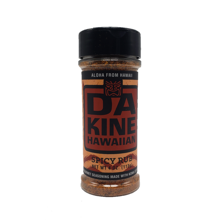 4oz Da Kine Da Rub & Seasoning Spicy