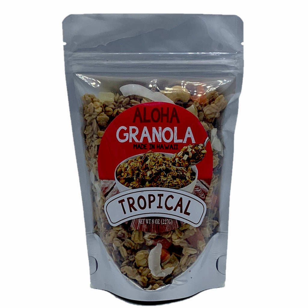 8oz Aloha Granola Tropical