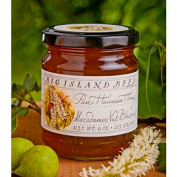 9oz Big Island Bees Macadamia Nut Blossom Honey