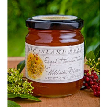 9oz Big Island Bees Wilelaiki Jar Organic Honey
