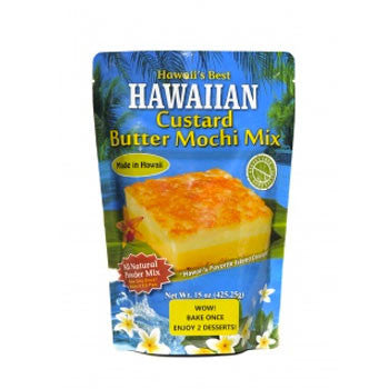 15oz Hawaii's Best Custard Butter Mochi