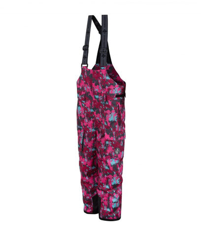 Cross Junior Cargo Ski Pant Cerise Camo