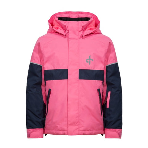 Cross Junior Track Ski Set Pink